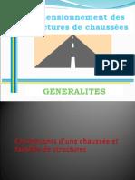 01 IFEER - Généralités chaussées