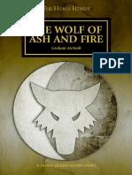 2014-01 - 01 Lobo de ceniza y fuego de Graham McNeill
