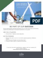 ORB Job Advert - 26 October 2020