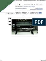 Impressora Hp Latex 26500 1,52 De Largura