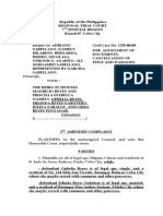 2nd amended complaint sabellano reyes