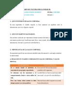 EXAMEN DE CULTURA FISICA UNIDAD III