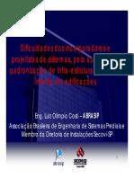 PADRONIZAÇÃO DE INFRA-ESTRUTURA PARA REDE INTERNA EM EDIFICAÇÕES