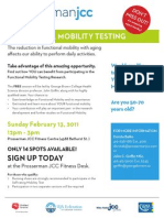 Functional Mobility Testing