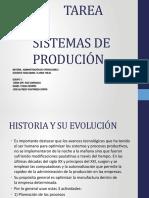 SISTEMAS DE PRODUCIÓN unidad 1
