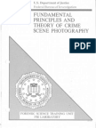 FBI Principles and Theory of Crime Scene Photography