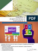 Colonização da América Espanhola x Portuguesa