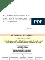 PP131 CONTROL Y PREVENCION EN SALUD MENTAL