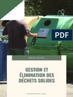 DOC 25-Gestion et élimination des déchets solides