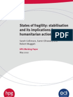 HPG Stability Report