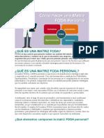 PROYECTO DE VIDA Y LA FORMACION ACADEMICA