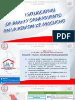 INDICADORES DE AGUA Y SANEAMIENTO  ayaucho