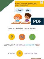 fonemas PML 1eros