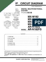 Diagrama Elétrico - MXM202D-232D