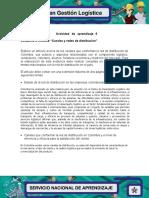 Evidencia 4 Articulo Canales y redes de disribucion