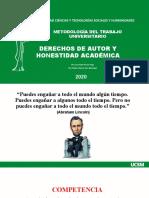 MTU-DERECHOS DE AUTOR Y HONESTIDAD ACADÉMICA(2)