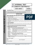 eSankalp 022 W1-3_Ph-2__Paper-2