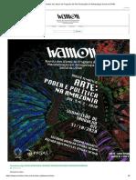 Wamon - Revista dos alunos do Programa de Pós-Graduação em Antropologia Social da UFAM