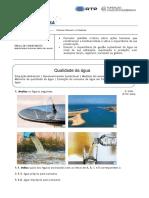 Ficha nº6 - Qualidade da água - CN e Cidadania