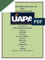 trabajo final de procesos cognitivos (lista)