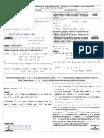 TABLA FACTORIZACIÓN Y PRODUCTOS NOTABLES