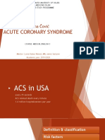 Acute coronary syndrome - Marina Čović