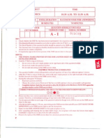 Karnataka CET Physics Sample Paper 1