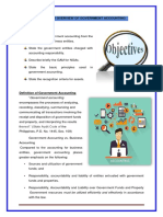 CHAPTER 1 OVERVIEW OF GOVERNMENT ACCOUNTING
