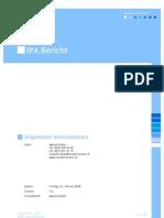 IPA-Bericht