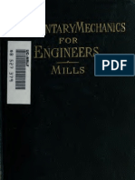Elementary Mechanics for Engineers by Mill Rich