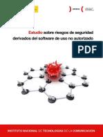 Estudio sobre riesgos de seguridad derivados del software de uso no autorizado