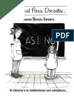 Abuso Sexual Manual para docentes