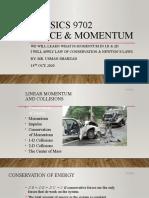 Forcw & Momentum