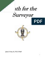 MATHS FOR SURVEYOR Book 2
