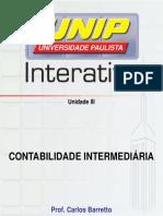 CONTABILIDADE INTERMEDIARIA 3