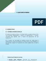 3. AUDITORÍA INTERNA