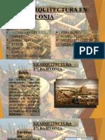 EXPOSICION HISSTORIA DE LA ARQUITECTURA 1 (BABILONIA)