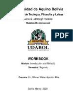 2. WORK BOOK  201 WILMER APARICIO