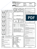 Ficha de Personagem D&D
