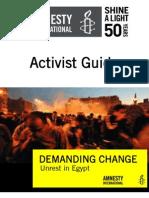 AIUSA - Egypt Activist Guide