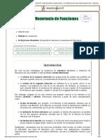 MAXIMOS Y MINIMOS; CRECIENTE Y DECRECIENTE_ MONOTONIA Y EXTREMOS DE FUNCIONES RELATIVOS Y ABSOLUTOS_ EJEMPLOS Y EJERCICIOS RESUELTOS EJERCICIOS DERIVADAS.pdf