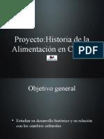 Proyecto historia de la alimentación en Cuenca