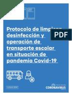 Protocolo Transporte Escolar