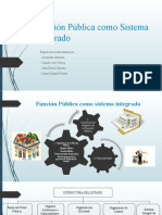 Función Pública como Sistema Integrado