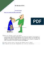 SUBORDINATE DICHIARATIVE 3E