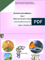 Introducción a la Biotecnología Ambiental 1