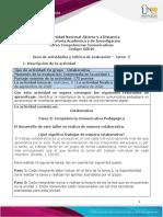 Guía de actividades y rúbrica de evaluación - Tarea 2 - Competencia Comunicativa Pedagógica.pdf