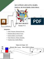 Informe N°11-Ley de Faraday