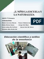 educacion cientifica y etilos de enseñanza.pptx