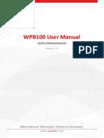 WPB100UserManual_V1.00